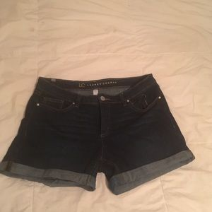 Lauren Conrad Blue Jean Shorts